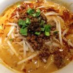 46971547 - 一番人気の花椒と辣油を効いた担々麺