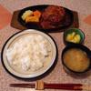 ワンモア - 料理写真:ハンバーグ定食