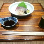 京都和久傳 - シマアジのお造り