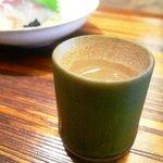 京都和久傳 - 青竹酒(お店のオリジナル日本酒)