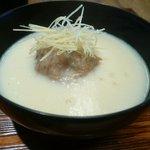 京都和久傳 - 椀物(蓮根饅頭 摘み湯葉すり流し)
