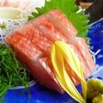 網元料理 徳造丸 - 金目鯛刺身800円