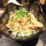 46993085 - 鶏皮ぽん酢(450円)