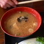 みやたや - H27.12.29 味噌汁