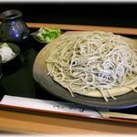 蕎麦処ふじ杜 - 料理写真:せいろ 大盛り 980円