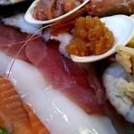 みゆきちゃん定食 - 海鮮丼アップ