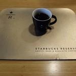 スターバックス・コーヒー - カフェベロナドリップの試飲ミニカップ