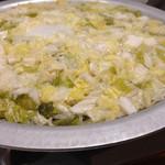博多 十八 - 白菜の古漬けが入ったところからスタート