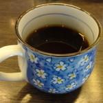 くろしお回転寿司 - コーヒー完成