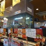 くろしお回転寿司 - 生簀もあります