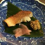 憩いの料亭 白竜湖 - 翠会席の焼き物(赤魚の西京焼き)