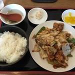 餃子苑 富丘の里 - 回鍋肉
