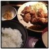 やまや - 料理写真:次はしょうが焼き定食食べよ(^ ^) 唐揚げ定食1000円。