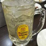 台湾餃子店 - ハイボール