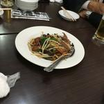 台湾餃子店 - ニラレバ炒め