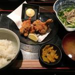 47028498 - カキフライ定食(うららの日ver)