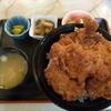 コロンビア喫茶一階 - 料理写真:ソースカツ丼 2016.2月