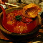新川にしや - ロールキャベツのトマトソース煮