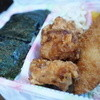 菊水亭 - 料理写真:のり&からあげ弁当