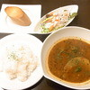 アズールブルー - 料理写真:スープカレーのランチ¥900だったかな?