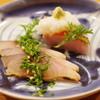 縄屋 - 料理写真:胡麻鯖の燻製と金目鯛のこなれ鮓