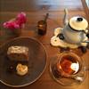 シボネボルケ - 料理写真:どんぐりケーキと林のお茶