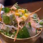 タカリバンチャ - チキンビリヤニセットのサラダ