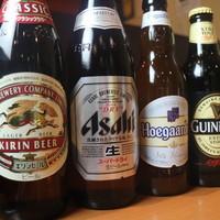 ビール・日本酒にもこだわっています!