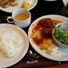葉山珈琲 - 料理写真:ランチ、ハンバーグ980?円