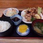 多加箸 - 料理写真:鶏唐定食 780円