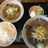 三幸軒 - 料理写真:もつ煮定食¥720味噌ラーメン付