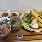 47081564 - 20品目の野菜ランチ