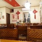 四川料理 蘭梅 - 2015年11月 ラウンドテーブルあり。