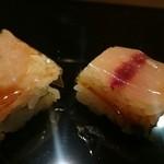 兼定 - これが箱寿司  鯵