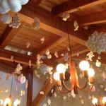 リリエン ベルグ - 2014.1  店内の天井の飾り