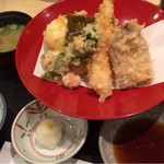 一誠 - 天ぷら定食  1100円