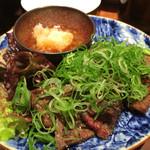 ゑん - 和牛カルビ炙りポン酢
