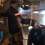 cucina Wada - 【16`1月】今日もワダシェフの手元拝見しながら・・・