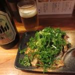 麺志 - ピリ辛ダルム焼き500円