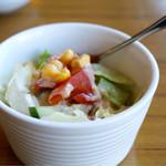 ブルボン - 料理写真:ランチのサラダ