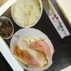 喫茶翡翠 - 料理写真:ハムエッグ定食(680円)