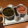 博多もつ鍋 やまや - 料理写真:食べ放題のからし高菜と辛子明太子