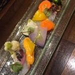 アンヴェール - 鮮魚とお野菜のウニソース