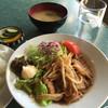 ホクシンケン食堂 - 料理写真:ショウガ焼肉ライス600。