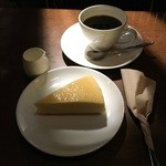 47108603 - ベイクドチーズとらくだ屋の珈琲