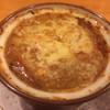 レストラン 三味 - 料理写真:オニオングラタンスープ 1,100円