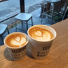 27コーヒーロースターズ - ドリンク写真:マキアート & カプチーノ