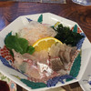 魚山人 - 料理写真:真鯛の刺身