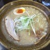 らーめん影虎 - 料理写真:冬塩らーめん(濃厚とんこつ背脂塩)760円