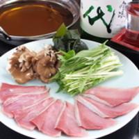 みなと寿司 - 鰹だしで食べる寒ぶりのしゃぶしゃぶ